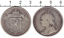 Изображение Монеты Кипр 18 пиастр 1901 Серебро VF