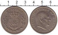 Изображение Монеты Дания 5 крон 1963 Медно-никель XF