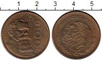Изображение Монеты Мексика 100 песо 1989 Латунь XF