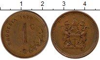 Изображение Монеты Родезия 1 цент 1970 Бронза XF