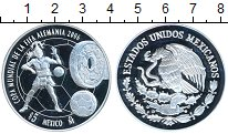Изображение Монеты Мексика 5 песо 2006 Серебро Proof