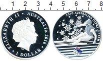 Изображение Монеты Австралия 1 доллар 2010 Серебро Proof-