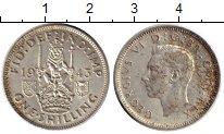 Изображение Монеты Великобритания 1 шиллинг 1943 Серебро XF-