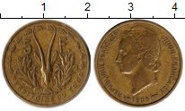 Изображение Монеты Того 5 франков 1956 Латунь XF