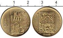 Изображение Монеты Сан-Марино 20 лир 1983 Латунь UNC