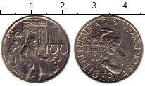 Изображение Монеты Сан-Марино 100 лир 1994 Медно-никель UNC