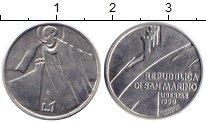 Изображение Монеты Сан-Марино 1 лира 1990 Алюминий UNC