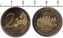 Изображение Монеты Германия 2 евро 2007 Биметалл UNC