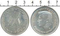 Изображение Монеты ОАЭ Шарджа 5 рупий 1964 Серебро XF