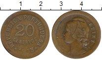 Изображение Монеты Гвинея 20 сентаво 1933 Бронза XF