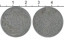 Изображение Монеты Йемен 1/4 риала 1939 Серебро VF