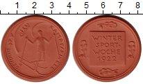 Веймарская республика Медаль Фарфор 1922 UNC фото