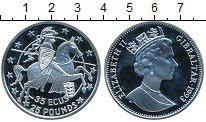 Изображение Монеты Великобритания Гибралтар 25 фунтов 1993 Серебро Proof-