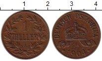 Изображение Монеты Германия Немецкая Африка 1 геллер 1904 Бронза XF