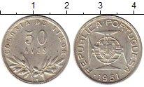 Изображение Монеты Тимор 50 авос 1951 Серебро XF+