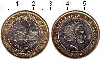 Изображение Монеты Великобритания Фолклендские острова 2 фунта 2004 Биметалл UNC-