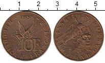 Изображение Монеты Франция 10 франков 1988 Бронза XF