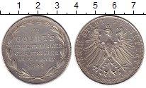 Изображение Монеты Франкфурт 2 гульдена 1849 Серебро XF