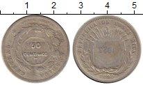 Изображение Монеты Коста-Рика 50 сентим 1923 Серебро VF