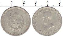 Изображение Монеты Уругвай 20 сентесим 1920 Серебро VF