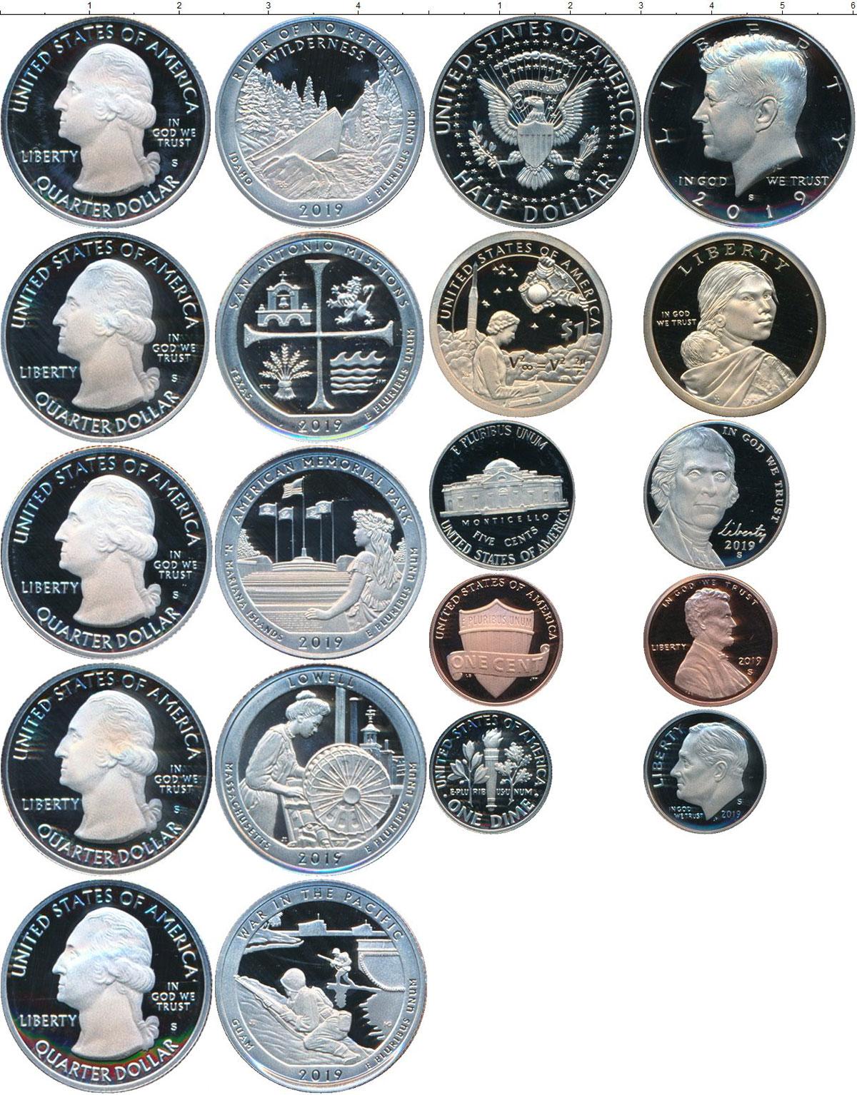 Картинка Подарочные монеты США   2019