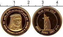Изображение Монеты ОАЭ 1/4 унции 2007 Золото UNC