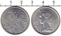 Изображение Монеты Франция Реюньон 2 франка 1948 Алюминий UNC-