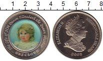 Изображение Монеты Тристан-да-Кунья 1 крона 2005 Медно-никель UNC-