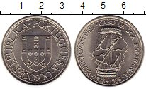 Изображение Монеты Португалия 100 эскудо 1988 Медно-никель UNC