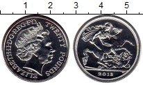Изображение Монеты Великобритания 20 фунтов 2018 Серебро UNC