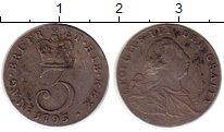 Изображение Монеты Великобритания 3 пенса 1795 Серебро VF