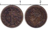 Изображение Монеты Великобритания 1 пенни 1829 Серебро XF