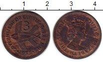 Изображение Монеты Кипр 3 милса 1955 Бронза XF-