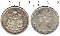 Изображение Монеты Канада 50 центов 1966 Серебро UNC-