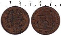 Изображение Монеты Канада 1/2 пенни 1844 Медь XF