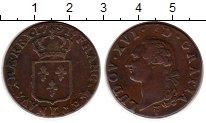 Изображение Монеты Франция 1 соль 1791 Медь XF+
