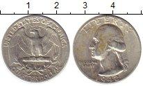 Изображение Монеты США 1/4 доллара 1942 Серебро XF-