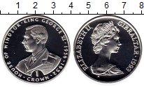 Изображение Монеты Великобритания Гибралтар 1 крона 1993 Серебро Proof