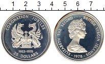 Изображение Монеты Виргинские острова 25 долларов 1978 Серебро Proof-