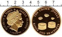 Изображение Монеты Великобритания Теркc и Кайкос 5 крон 2004 Медно-никель UNC