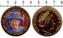 Изображение Монеты Великобритания Тристан-да-Кунья 5 фунтов 2015 Медно-никель UNC