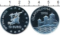 Изображение Монеты Финляндия 10 евро 1996 Серебро Proof