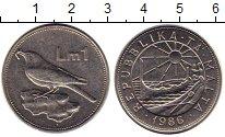 Изображение Монеты Мальта 1 лира 1986 Медно-никель UNC-