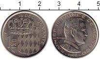 Изображение Монеты Монако 1 франк 1966 Медно-никель XF