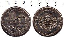 Изображение Монеты Сингапур 5 долларов 1989 Медно-никель UNC