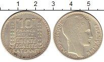 Монета Франция 10 франков Серебро 1931 XF фото