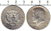 Изображение Монеты США 1/2 доллара 1969 Серебро XF-
