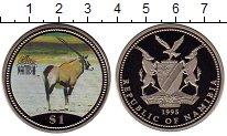 Изображение Монеты Намибия 1 доллар 1995 Медно-никель Proof