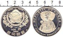 Изображение Монеты Южная Корея 500 вон 1970 Серебро Proof-