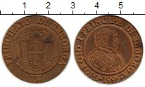Изображение Монеты Италия Себорга 1 луиджино 1995 Медь UNC-